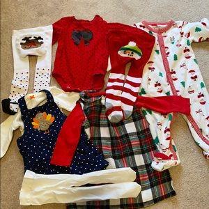 Carter's 9 mo holiday bundle
